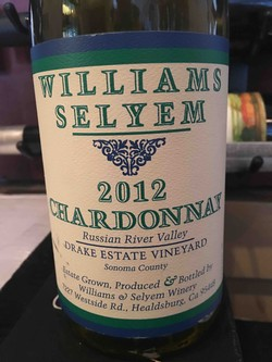 2012 Williams Selyem