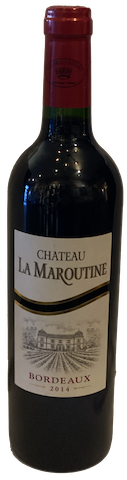 2014 Chateau La Maroutine Bordeaux Rouge - Saint Germaine, France